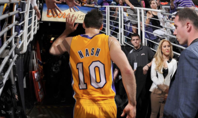 Steve Nash lascia i Los Angeles Lakers e il basket