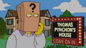 Thomas Pynchon in una puntata dei Simpson