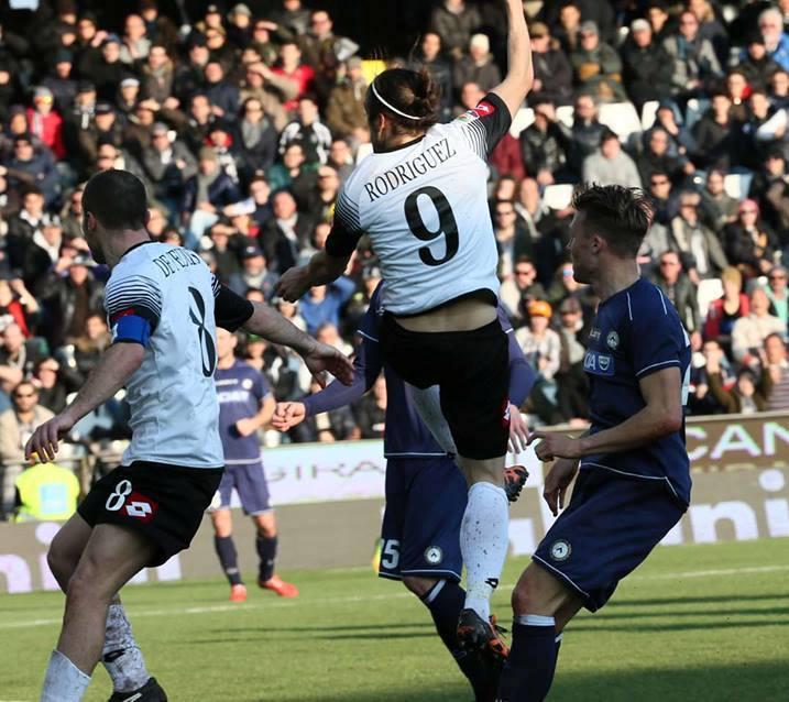 Il Cesena batte l'Udinese grazie ad un gol di Rodriguez