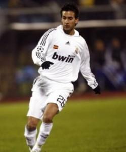 Alberto Bueno ai tempi del Real Madrid