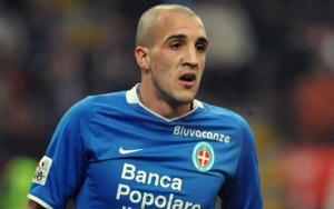 Pablo Gonzales, con le sue reti il Novara sogna il ritorno in Serie B