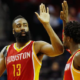 Career high di 50 punti per James Harden nella notte Nba