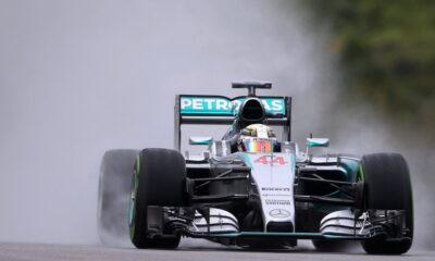Lewis Hamilton, pole position in F1 in Malesia