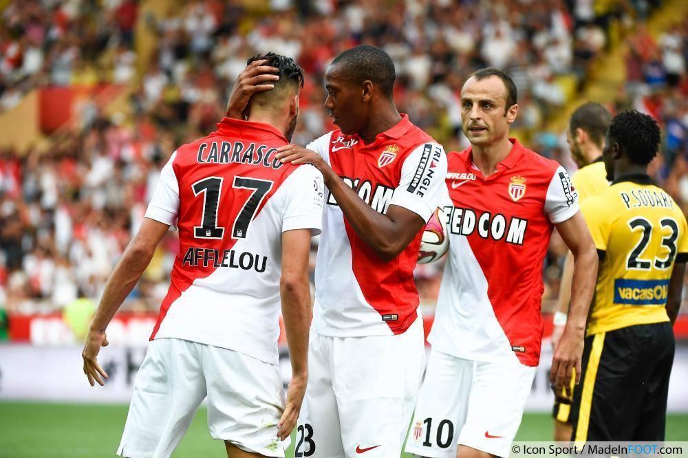 Il Monaco, l'avversaria della Juve nei quarti di Champions