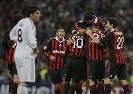 I rossoneri sono stati gli ultimi a violare per tre volta la porta dei blancos in Europa.