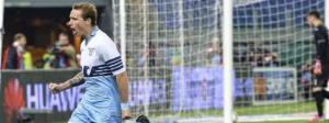 Lucas Biglia, autore del primo gol della Lazio, è sicuramente tra i top del match.