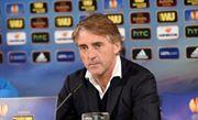 Roberto Mancini nella conferenza stampa prima di Wolfsburg-Inter