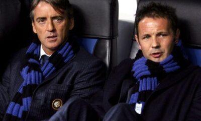 Sinisa Mihajlovic e Mancini ai tempi dell'Inter