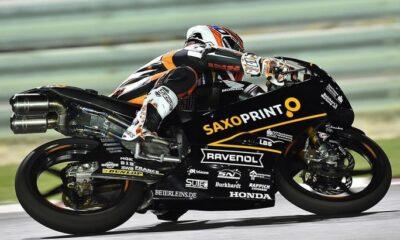 Masbou, in pole position in Qatar nella moto 3