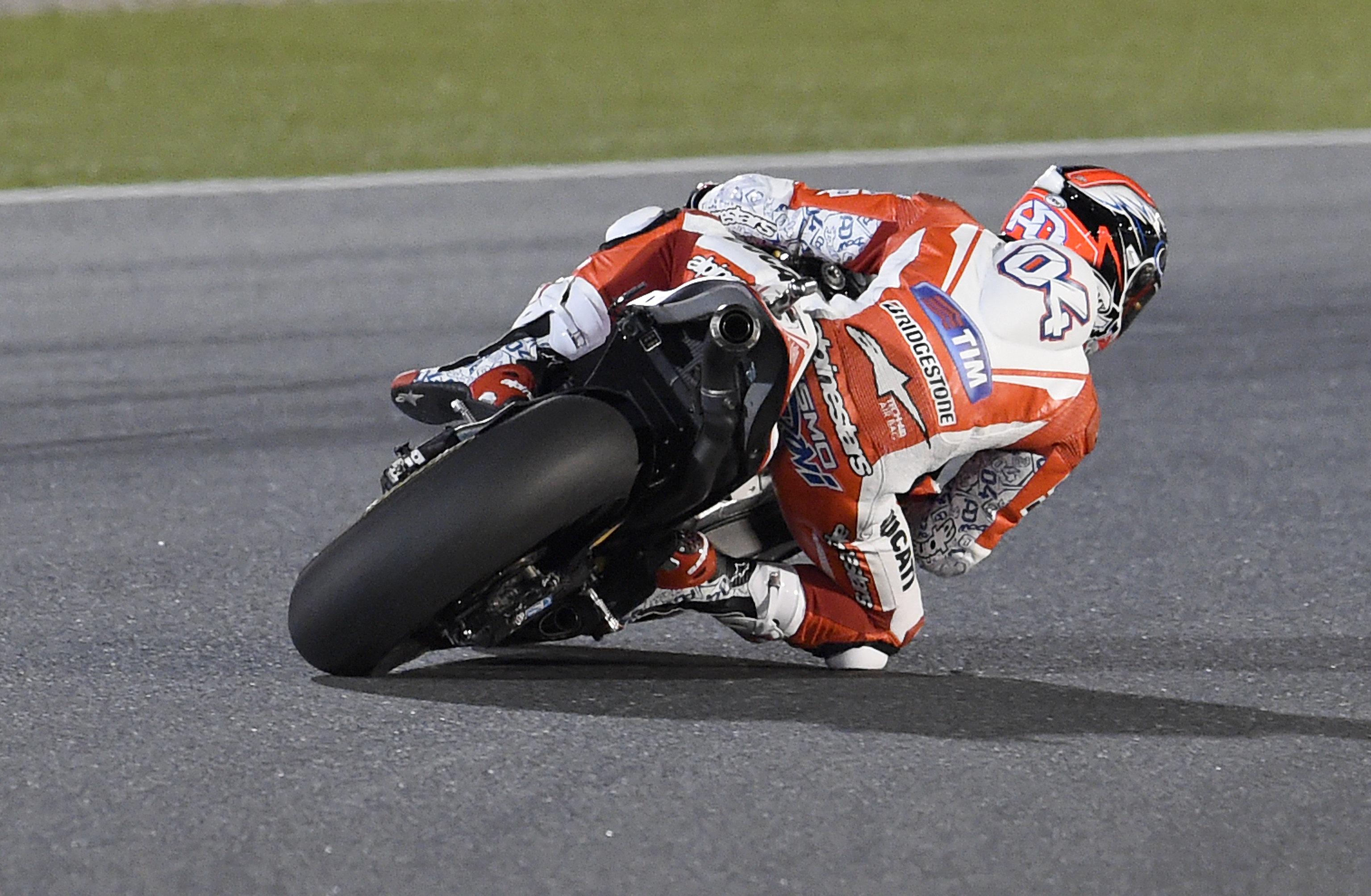 Andrea Dovizioso pole in qatar