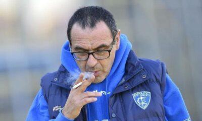 Sarri ha parlato alla viglia di Lazio-Empoli.