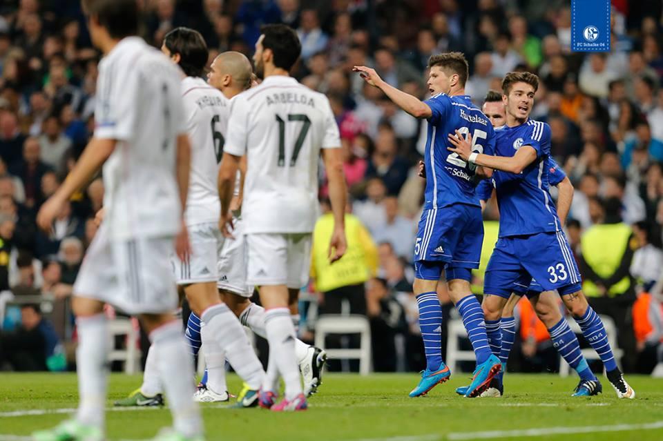 Real Madrid-Schalke 04 3-4