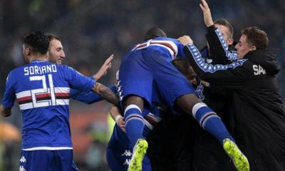 Roma-Sampdoria 0-2