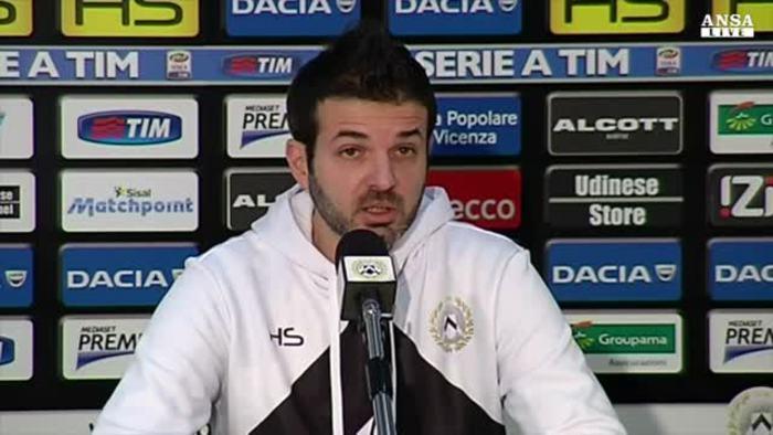 Stramaccioni parla alla vigilia del match contro l'Atalanta