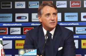 Mancini parla in conferenza alla vigilia di Inter-Cesena.