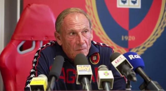 Zeman ha parlato alla vigilia di Cagliari-Lazio.