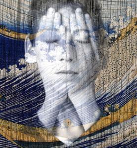 Bonzanos, Guardando oltre-Fisiognomica emotiva, 2014, tecnica mista, sta...