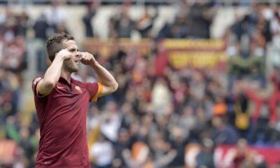 Roma-Napoli 1-0, a segno Pjanic con gesto polemico