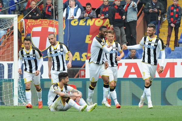 Il Genoa perde l'ultimo treno europeo: 1-1 con l'Udinese