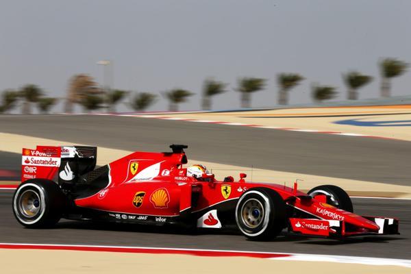 F1, Gp Bahrain: Vettel a 69 millesimi da Hamilton nelle FP3