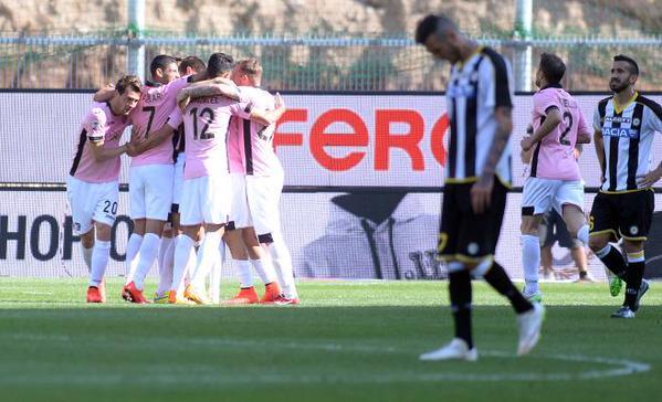 Strama non ride più: Palermo corsaro ad Udine
