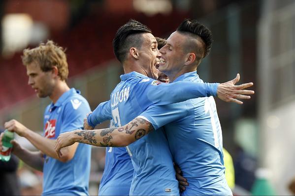 Napoli-Fiorentina 3-0: gli azzurri tornano alla vittoria
