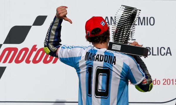 MotoGp: Rossi come Maradona, gol stupendo in Argentina