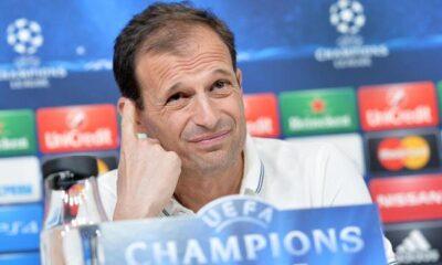 Allegri, tecnico della Juventus, che punta alla CHampions