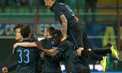 Inter cattiva e vincente: Roma battuta 2-1.