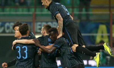 Inter cattiva e vincente: Roma battuta 2-1.