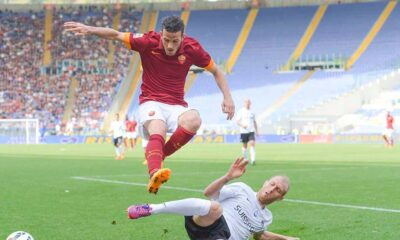 Alessandro Florenzi, uno dei migliori in campo nella Roma