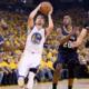 Steph Curry, esordio da favola per i suoi Warriors nei Playoff Nba