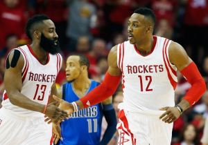 James Harden e Dwight Howard, dominatori nella notte di Playoff Nba