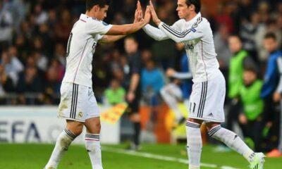 James Rodriguez e Gareth Bale