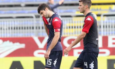 Il Cagliari sprofonda verso la Serie B