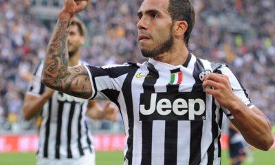 Carlos Tevez torna a disposizione nella Juventus