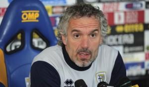 Roberto Donadoni sprona il suo Parma in conferenza prima della sfida con l'Inter