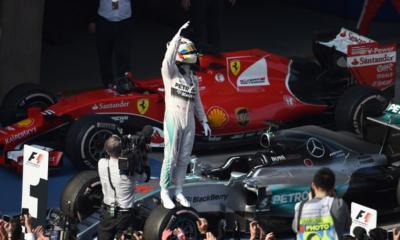 F1, Gp Cina: torna l'extraterrestre Hamilton, Vettel sempre sul podio