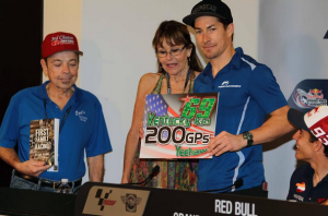 Nicky Hayden al 200° GP nella classe regina