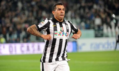 Tevez addio Juventus.