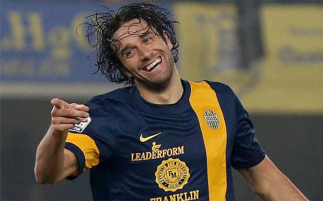 Luca Toni, Roma attaccante del Verona, è tra i più consigliati per il fantacalcio