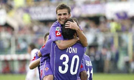Fiorentina Toni Mutu