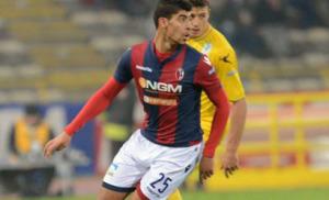 Masina, autore del momentaneo 1-0 del Bologna a Bari