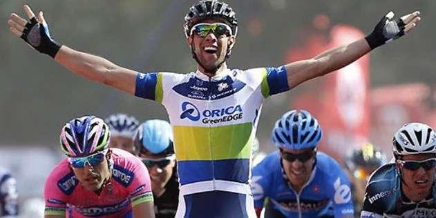 Michael Matthews, vincitore della prima tappa del Giro dei Paesi Baschi