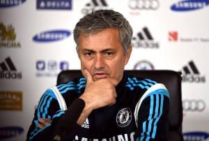 José Mourinho, allenatore del Chelsea capolista in Premier League