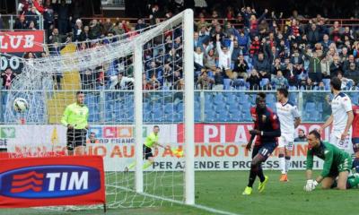Niang-Falque: il Genoa ritrova il sorriso, il Cagliari solo la disperazione