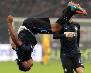 Joel Obi, autore del gol del pareggio nel derby all'andata