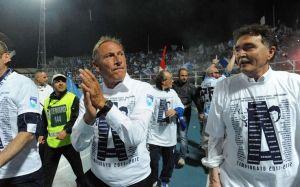 Zdnedek Zeman, autore della storia promozione in A del Pescara