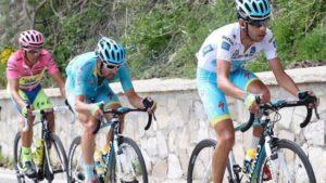 Aru ci ha provato ma Contador rimane in rosa. Giro d'Italia comunque che resta apertissimo.