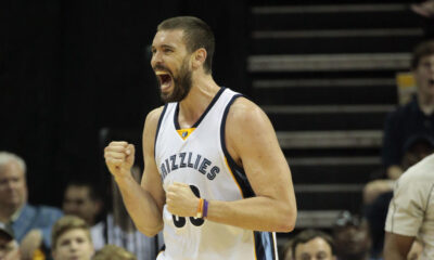 Marc Gasol e i suoi Grizzlies divorano gli Warriors in Gara 3 di Playoff Nba